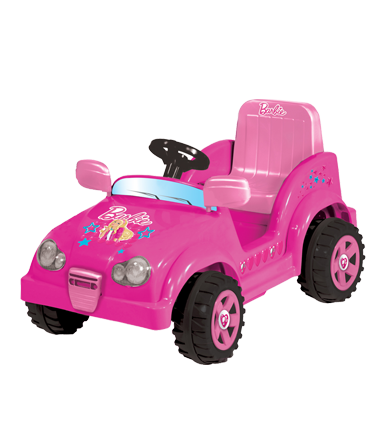 Jeep scout Barbie 6V.